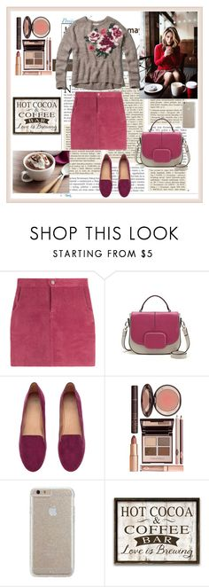 """""""Untitled #228"""" by non-mi-piace ❤ liked on Polyvore featuring H&M, Charlotte Tilbury, Case-Mate and Abercrombie & Fitch"""