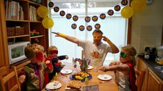SUPER Father's Day party