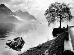 Arnold Odermatt (May 25, 1925, Oberdorf, canton Nidwalden, Switzerland) is a celebrated Swiss police photographer. Originally trained as a baker, he was a photographer for the Nidwalden district police from 1948 until his retirement in 1990. He is best known for his eerily beautiful black-and-white photographs of the aftermaths of motor vehicle accidents. His photographs have earned him a great deal of respect on the art scene for a number of years.