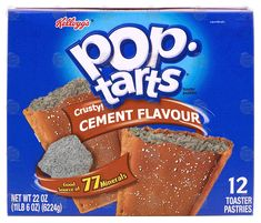 "Forty-Six Horrifying Pop Tart Flavors That Are Fake, Thank God - Funny memes that ""GET IT"" and want you to too. Get the latest funniest memes and keep up what is going on in the meme-o-sphere. Gross Food, Weird Food, Fake Food, Crazy Food, Weird Oreo Flavors, Pop Tart Flavors, Funny Food Memes, Food Humor, Dumb Meme"