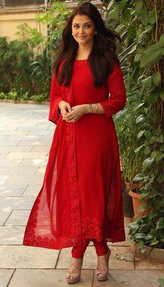 Resham embroidered georgette red churidar suit indian designer wear в 2019