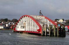 Ramsey Harbour Swing Bridge © Peter Killey www.manxscenes.com