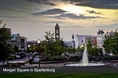| Spartanburg, South Carolina...Morgan Square