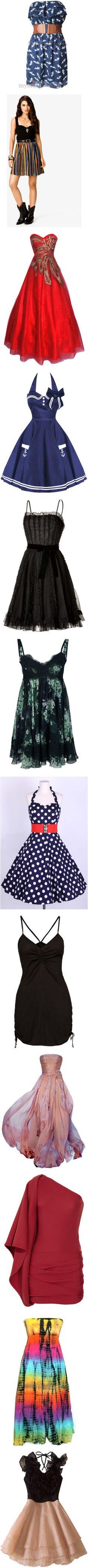 """Dresses"" by christina-m-k on Polyvore"