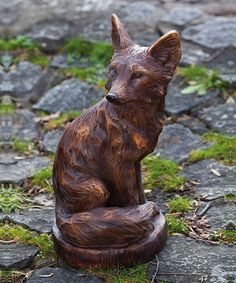 Love this Fox Statue by Evergreen on #zulily! #zulilyfinds