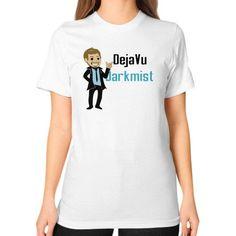 President Darkmist Unisex T-Shirt (on woman)
