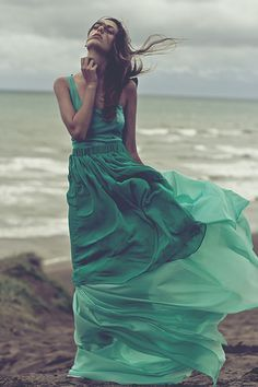 Dress Flowing in the Wind | Blowing in the wind