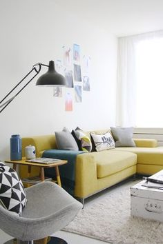 The home of Aafke - eclectic - living room - amsterdam - by Holly Marder