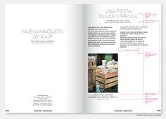 Maquetación y diseño de la revista All Lovely Party 03