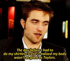 No one hates Twilight more than Robert Pattinson. #cedricforever