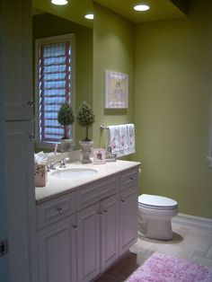 Earthy green color Im wanting for our bathroom