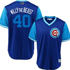 ab9f9fe1f Willson Contreras  Willy the Beast  Chicago Cubs 2018 Little League World  Series Players Weekend