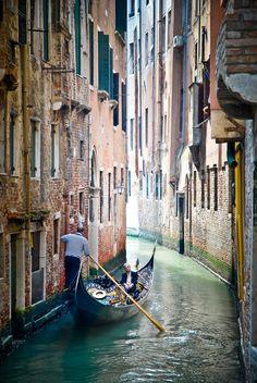 The Gondolier, Venice, Italy