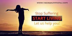 Stop suffering, start living better, let us help you! http://tracklix.com/a008