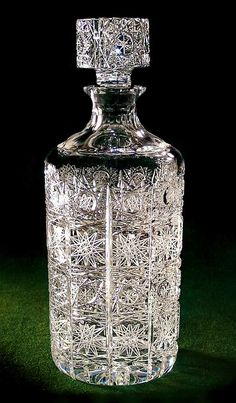 Cylindrical Liquor Decanter 1 Liter