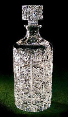 Cylindrical Liquor Decanter 1 Liter