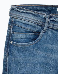 PANTALÓN DENIM HIGH WAIST - Todos - Jeans - Denim - | Lefties España