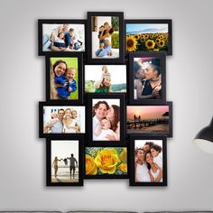 Collage Frames, Frames On Wall, Home Crafts, Diy Crafts, Wall Decor Set, Collage Design, Photo Displays, Picture Frames, House Design