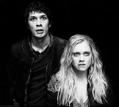 Bellamy Blake and Clarke Griffin - Bob Morley and Eliza Taylor || The 100 - season 1 episode 10 || Bellarke || OTP