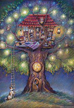 Árvore literária das fadas