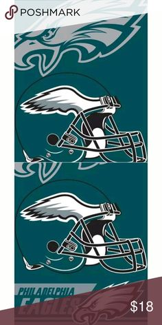 Philadelphia Eagles Beach Towel 28x58 Fully Licensed Beach Towel Brand new in bag with tag NFL Other