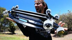 THE 8 WHEELED ALL ROVER SKATEBOARD! | SKATE CIRCUS – Braille Skateboarding: Source: Braille Skateboarding