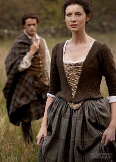 Outlander's ....... Claire and Jamie