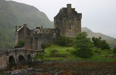 Eilean Donan....  Apparently the most photographed castle in Scotland. Was a complete ruin before being restored 1912-1932