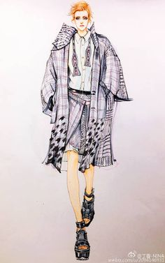 How to Draw a Fashionable Dress - Drawing On Demand