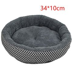 Hot Sale 2 Colors Round Soft Dog House Bed Striped Pet Cat And Dog Bed Grey /Red-Blue Size S M Pet Products ** Find out more about the great product at the image link. (This is an affiliate link and I receive a commission for the sales) Dog House Bed, Puppy House, Couch Pet Bed, Pet Beds, Pet Puppy, Dog Cat, Round Dog Bed, Cheap Dog Beds, Warm Bed