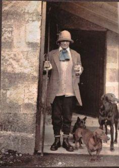 Gabrielle Chanel - risk taker.  Woman wearing pants was odd in those times...