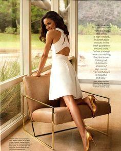 Jurnee Smollett-Bell in Spring 2013 via O, the Oprah Magazine