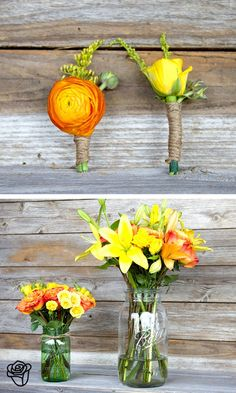 sunny, yellow, happy, country flowers.
