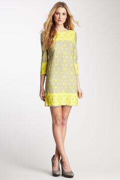 Taylor Graphic Print Long Sleeve Dress >> What a wonderful dress! 69 usd