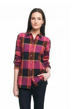Foxcroft Fall Plaid Blouse | Foxcroft Clothing