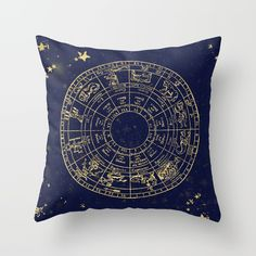 Navy Blue Space with metallic gold foil stars and star map. Constellations and maps of the universe. The Milky Way Galaxy and and  summer star gazing chart for wild explore wander home decor.