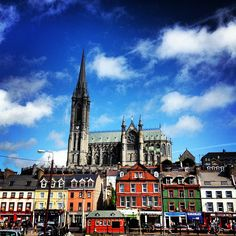 Cobh, Ireland. (just outside Cork). The final port of call for Titanic before heading across the Atlantic.... Really worth a visit. And when´s there, don´t forget to eat at Gilbert´s!