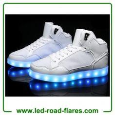 2a8e9ed66 China Led Shoes Manufacturer Wholesales USB Charging Flashing Fluorescent  Led Shoes Zapatos De Neón