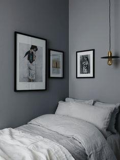 20 Bedroom Paint Ideas for Your Dream Bedroom - Simply Home Dream Bedroom, Home Decor Bedroom, Bedroom Furniture, Bedroom Ideas, Gray Furniture, Home Interior, Interior Design, Interior Styling, Teen Girl Bedrooms