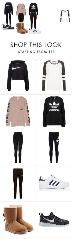 """random"" by catiebugs2002 on Polyvore featuring NIKE, Superdry, Victoria's Secret, adidas Originals, L.K.Bennett, adidas and UGG"