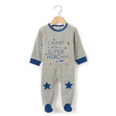 Pyjama à pieds en velours R baby