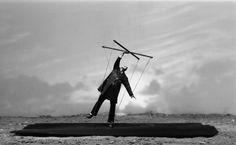 Gilbert Garcin - Gilbert Garcin, Simulacre - Sélection de photographies; 1993, 2010   Galerie Les Filles du Calvaire