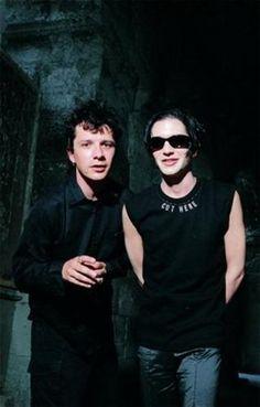Nicola Sirkis (Indochine) & Brian Molko (Placebo) <3