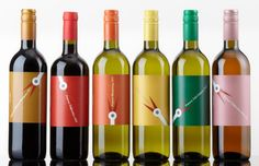 vincellér - ház, sopron, boroscímke. Cute #wine #packaging PD