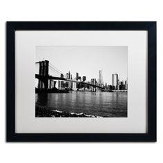 'Brooklyn Bridge III' by Ariane Moshayedi Framed Photographic Print