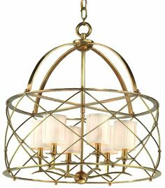 Buy the Corbett Lighting Aged Brass Direct. Shop for the Corbett Lighting Aged Brass Chandelier from the Argyle Collection and save. Brass Chandelier, Brass Pendant, Modern Chandelier, Chandelier Lighting, Entry Lighting, Overhead Lighting, Drum Pendant, Lantern Pendant, Light Pendant