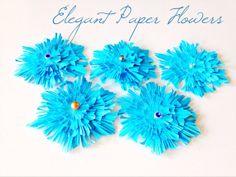 Elegant Paper Flowers