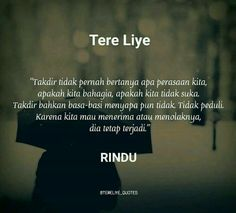 Quotes Indonesia Tere Liye Rindu 15 Ideas For 2019