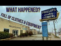 Long time Dayton Area dry cleaners abandoned with everything left inside including clothing ready for pickup and equipment. Catholic School, Dry Cleaning, West Virginia, Illinois, Everything, Abandoned, Ohio, The Neighbourhood, The Unit