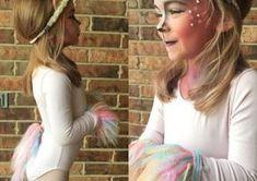 Einhorn Kostüm selber machen | Kostüm Idee zu Karneval, Halloween & Fasching 3